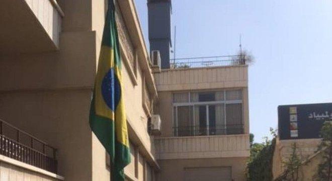 A embaixada brasileira em Dasmasco voltou a funcionar no ano passado