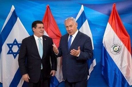 Cartes e Netanyahu estiveram em abertura