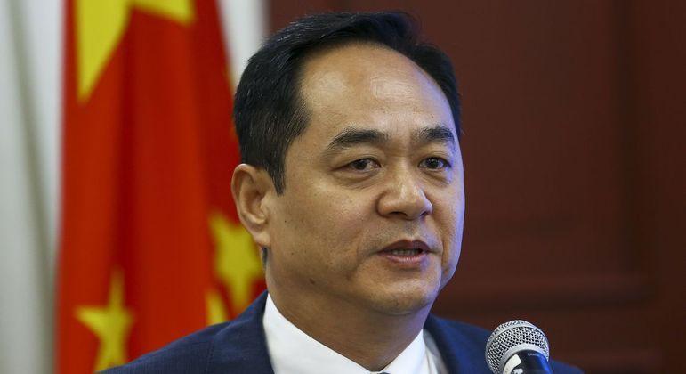 O embaixador chinês no Brasil, Yang Wanming