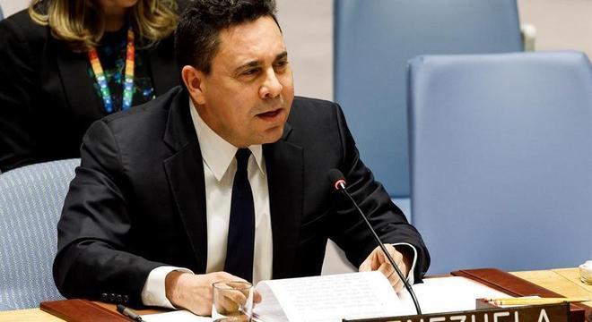Carta teria sido enviada ao embaixador da Venezuela na ONU, Samuel Moncada