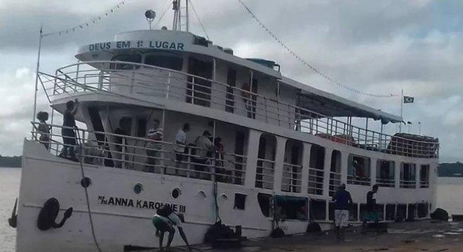 Embarcação naufraga no sul do Amapá e deixa 13 mortos