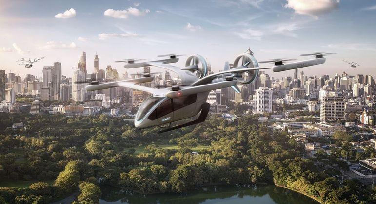 Embraer divulga protótipo do seu novo carro voador elétrico