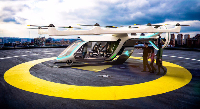 Projeto prevê pousos e decolagens na vertical, como os helicópteros