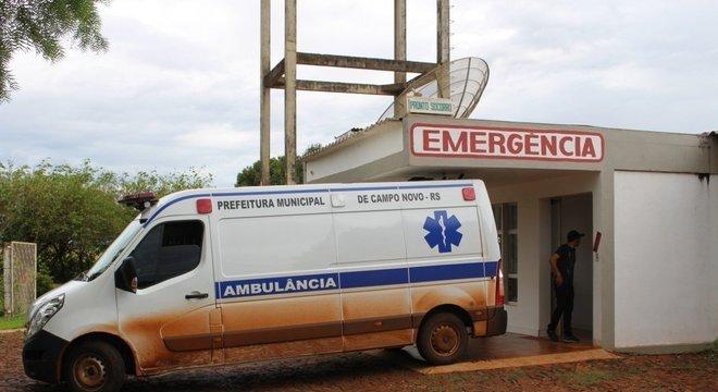 Emergência onde a criança foi encaminhada após acidente Crédito: Marcos Nunes / Observador Regional / CP