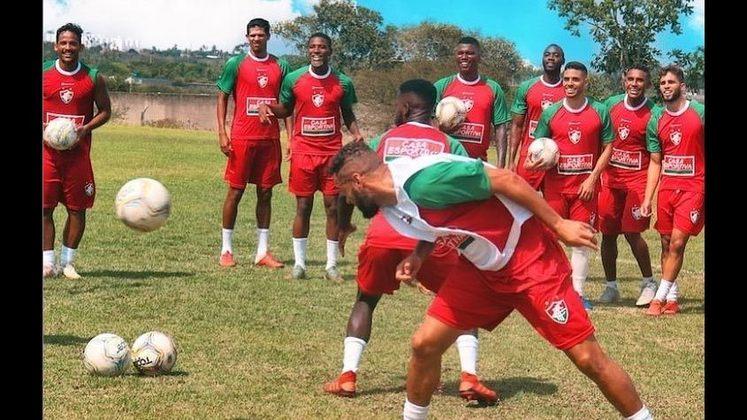 Emerson Catarina - 3 gols - Fluminense de Feira - Campeonato Baiano