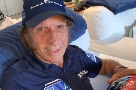 Emerson Fittipaldi, bicampeão mundial de Fórmula 1