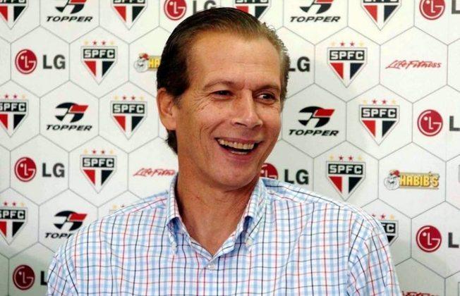Emerson Leão (2004-2005) - Teve sua primeira passagem pelo Tricolor nessas temporadas. Venceu o Paulistão daquele ano e levou o clube à final da Copa Libertadores da América.
