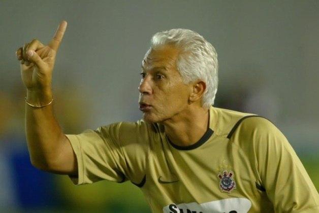 Emerson Leão - Treinou o Corinthians entre agosto de 2006 e março de 2007 - 46 jogos