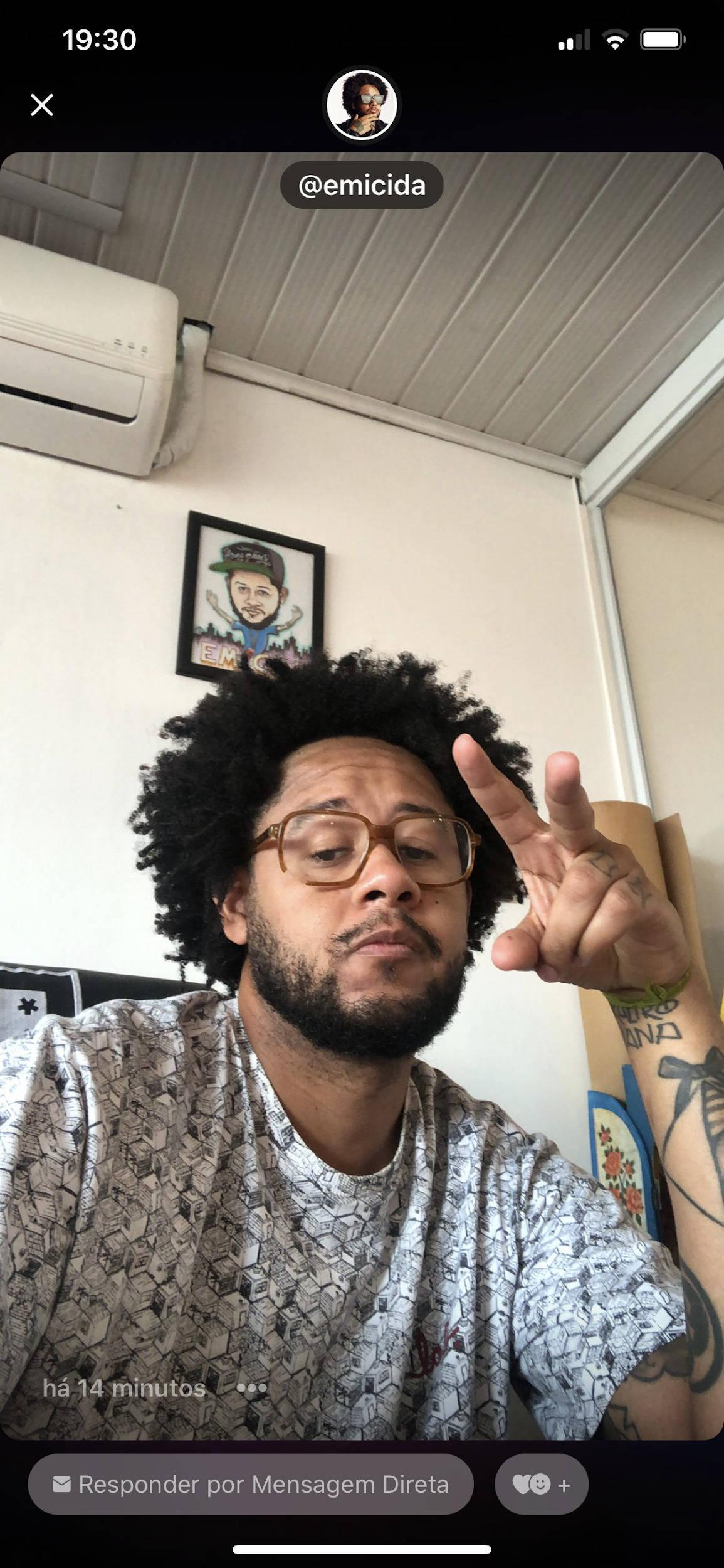 Funcionalidade já foi utilizada pelo rapper brasileiro Emicida