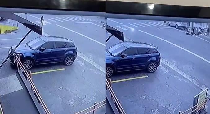 Menina de 12 anos foi atropelada na faixa de pedestres