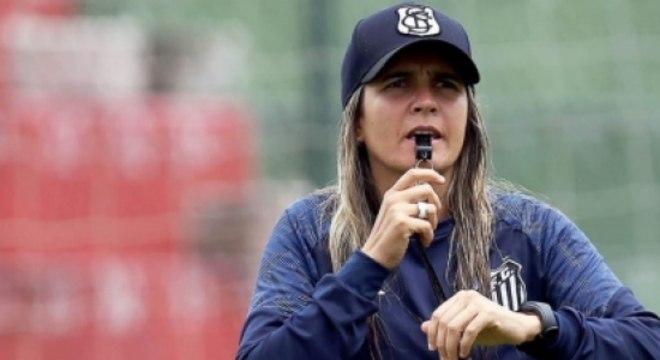 Emily Lima, treinadora do Santos