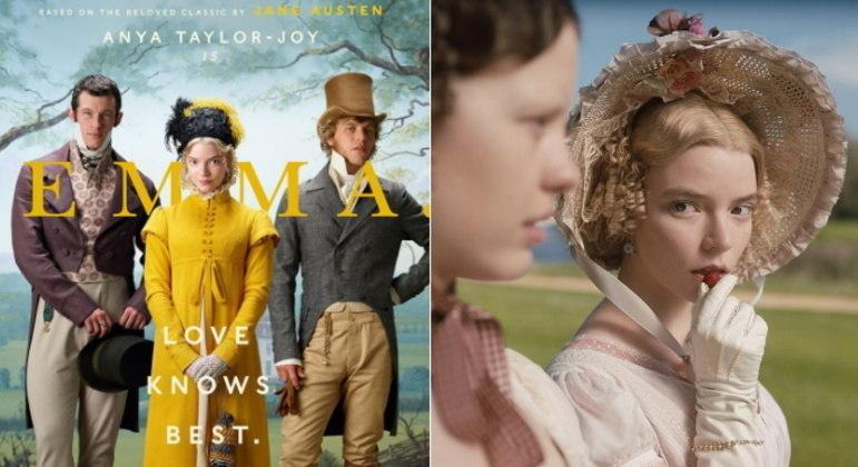 EmmaFoi pela adaptação da clássica história da autora Jane Austen que Anya conseguiu a primeira indicação ao Globo de Ouro, na categoria de Melhor Atriz em Filme de Comédia ou Musical. Ela vive a divertida protagonista, que parece estar a frente de seu tempo
