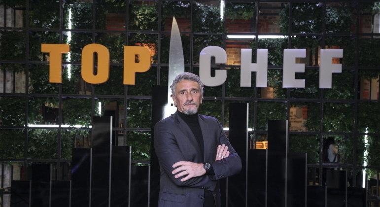 Emmanuel Bassoleil também integra o júri da terceira temporada do Top Chef Brasil