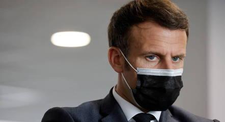 Na imagem, presidente Emmanuel Macron