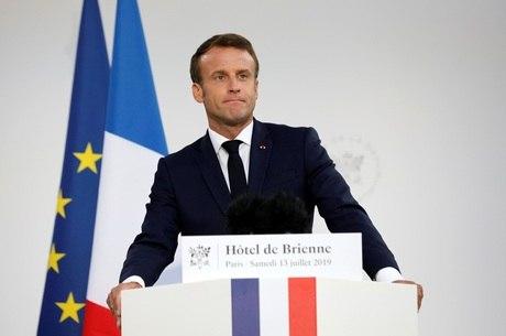 Macron aprova comando espacial na Força Aérea