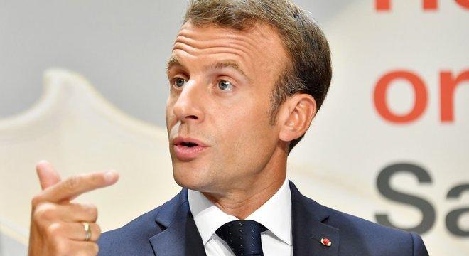 Presidente da França, Emannuel Macron ameaçou deixar acordo União Europeia-Mercosul 'Arrogância'