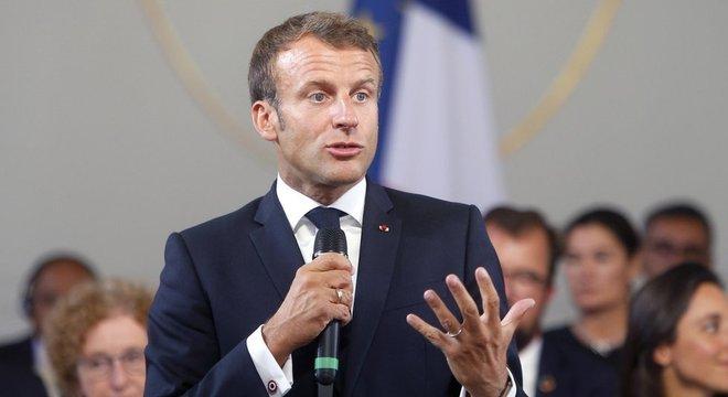 O presidente francês, Emmanuel Macron, classificou o desmatamento na Amazônia como 'crise internacional'