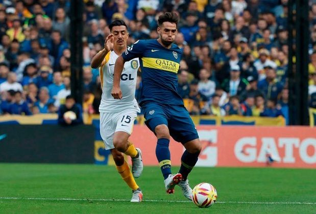 Emmanuel Mas (31 anos) - Lateral-esquerdo argentino do Boca Juniors