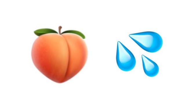 Pêssego e gotinhas d'água são alguns dos emojis na mira da rede social