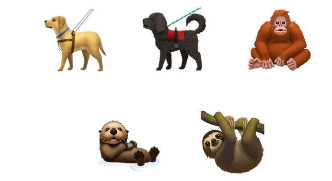 Mais alguns animais para a lista de figurinhas