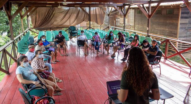 Mulheres acompanharam curso de empoderamento feminino na Amazônia