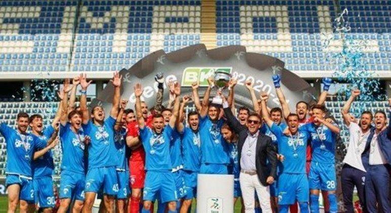 O Empoli, campeão da Série B