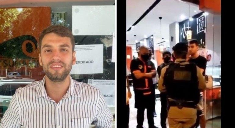 Empresário é preso após desafiar decreto e abrir restaurante em MG