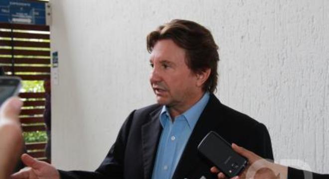 Empresário Valdir Piran presta depoimento no Fórum