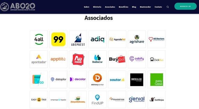 Associação Brasileira de Online to Offline defende interesses de empresas de aplicativo