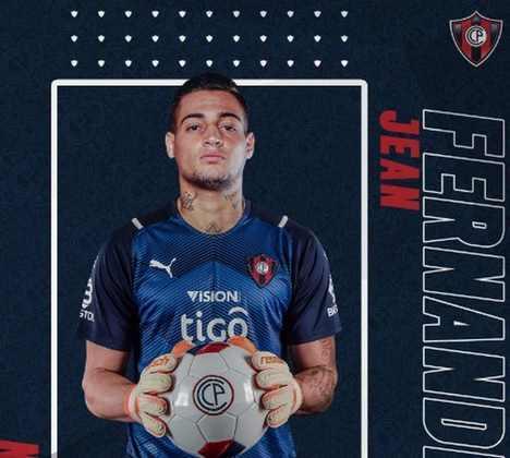 Emprestado ao Atlético-GO na temporada passada, Jean ficou sem clube, mas acertou seu empréstimo ao Cerro Portenho-PAR.