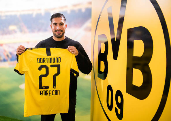 EMRE CAN - Três jogos foram suficientes paraconvencer o Borussia Dortmund a adquiri-lo em definitivo à Juventus.O volante chegou ao clube alemão no início deste ano, por empréstimo. O custo da negociação foi de 25 milhões de euros. Cerca de R$ 151 milhões.