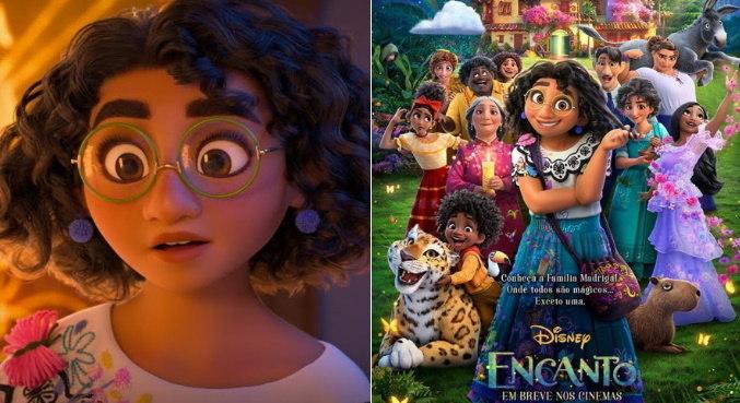 Mirabel protagoniza a animação 'Encanto', que mostra uma família com poderes