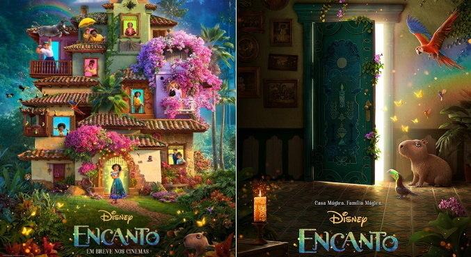 'Encanto' mostra uma família onde quase todos os membros têm poderes