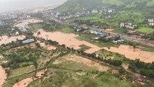Índia começa os trabalhos de limpeza após chuvas torrenciais