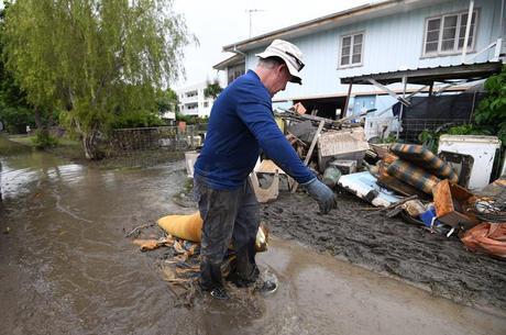 Enchentes atingiram Queensland