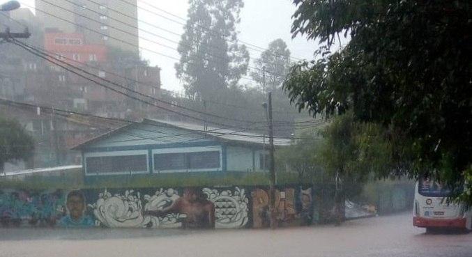 Chuvas afetaram cidades da região metropolitana de São Paulo