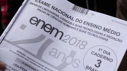 Inep divulga gabaritos oficiais da prova do Enem. Resultado final sairá em janeiro ()