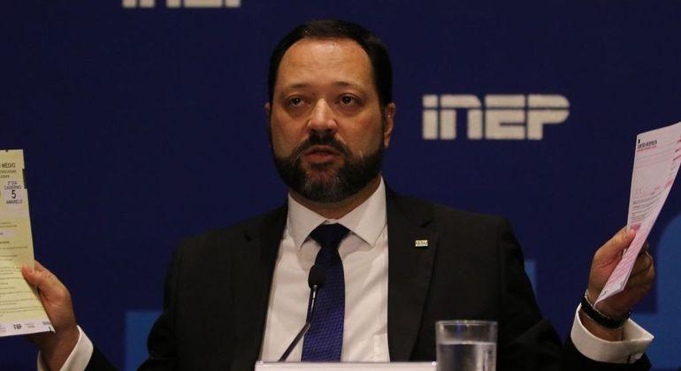 Presidente do Inep apresentou balanço detalhado do primeiro dia de realização do Enem