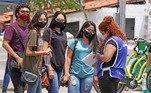 Inscritos deverão utilizar máscara de proteção durante toda a prova.A orientação é ter uma máscara reserva caso haja necessidade de trocar