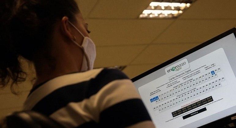 Quem perdeu o Enem digital tem até esta sexta (12) para pedir reaplicação da prova