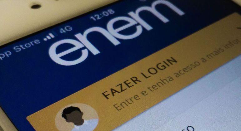 Cadastro do login único é necessário para acompanhar a inscrição do Enem 2021