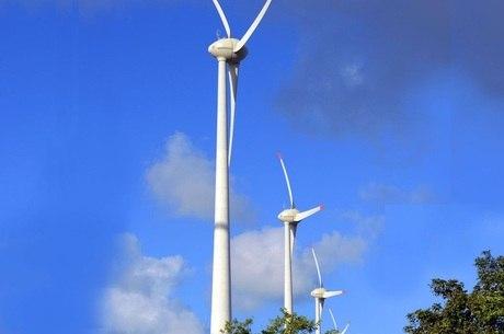 Produção de energia a partir do vento