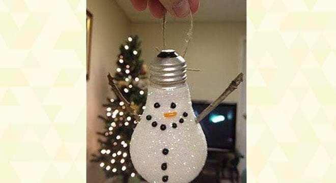 Enfeites de Natal reciclados: ideias fáceis e baratas para a sua decoração