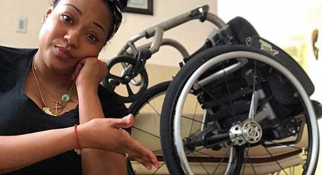 Andrea tenta servir de inspiração para outros cadeirantes que querem buscar um sonho na vida