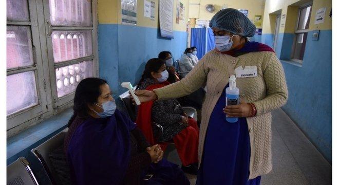 Imunizante desenvolvido na Índia ainda não aprovado em nenhum outro país