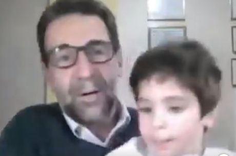 João Miguel invadiu sessão virtual da Câmara