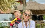 Enrico Bacchi coleciona momentos de muito charme, fofura e sorrisos ao lado da mãe, Karina Bacchi. Apesar de ter só 4 anos de vida, o perfil do menino no Instagram, gerenciado por Karina, já acumula 3,5 milhões de seguidores