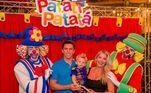 Em 2019, o Enrico ganhou uma festa inspirada nos circos para comemorar 2 anos. A festa reuniu amigos e familiares de Karina, inclusive, Amaury Nunes, marido da apresentadora, que posou com o aniversariante no colo