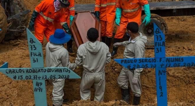 Mais de 68 mil pessoas já morreram no Brasil