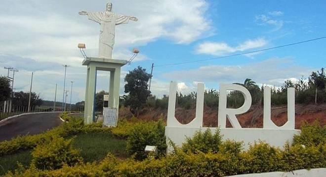 Entrada do município de Uru, na região de Bauru